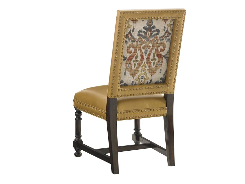 Lexington - Jacqueline Leather Hostess Dining Chair