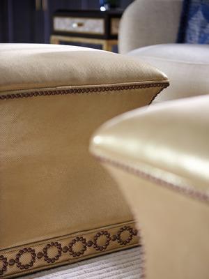 Thumbnail of Lexington - Merino Leather Ottoman