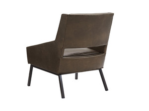 Thumbnail of Lexington - Amani Leather Chair With Charcoal Base