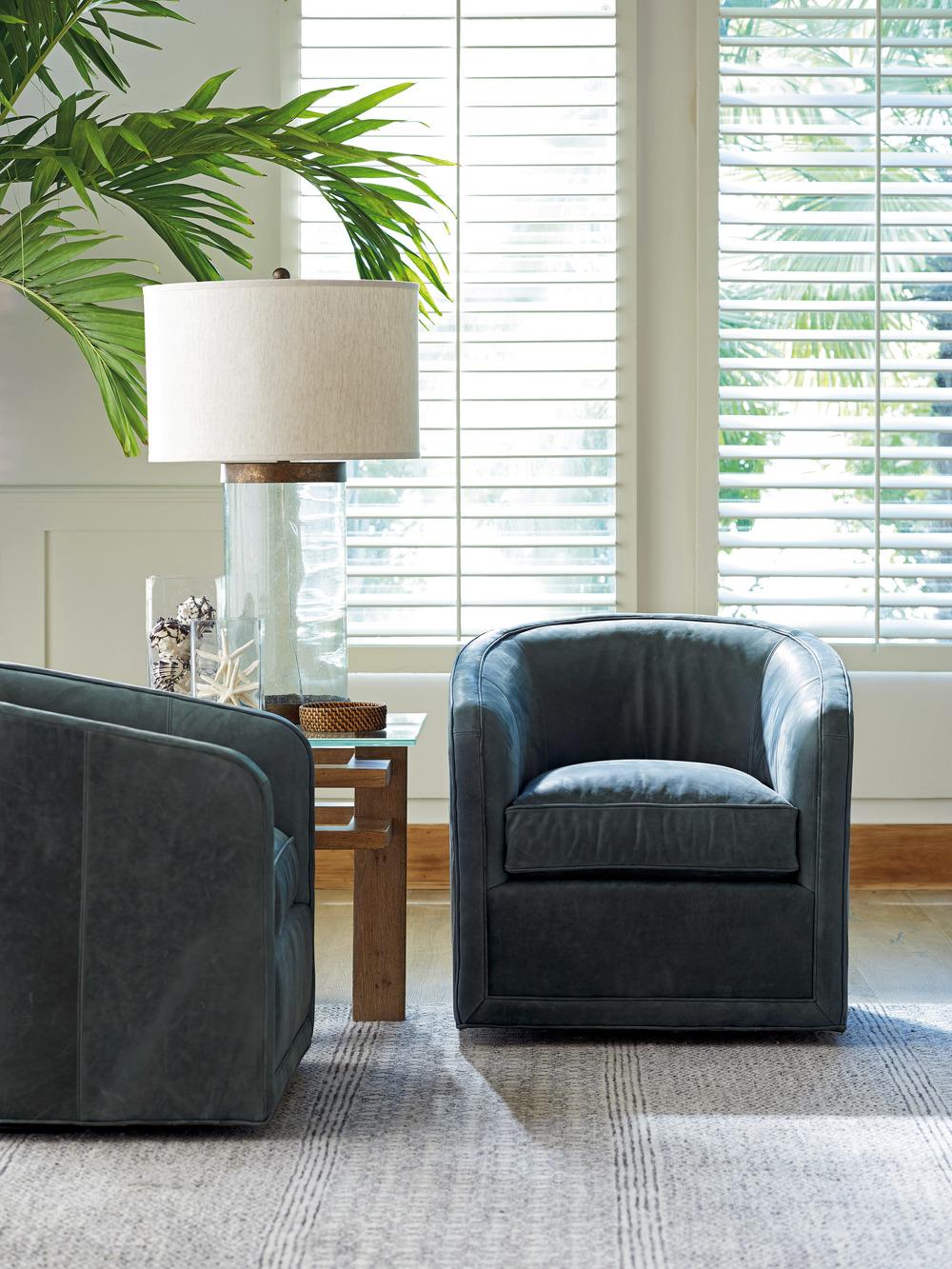 Lexington - Colton Leather Swivel Chair