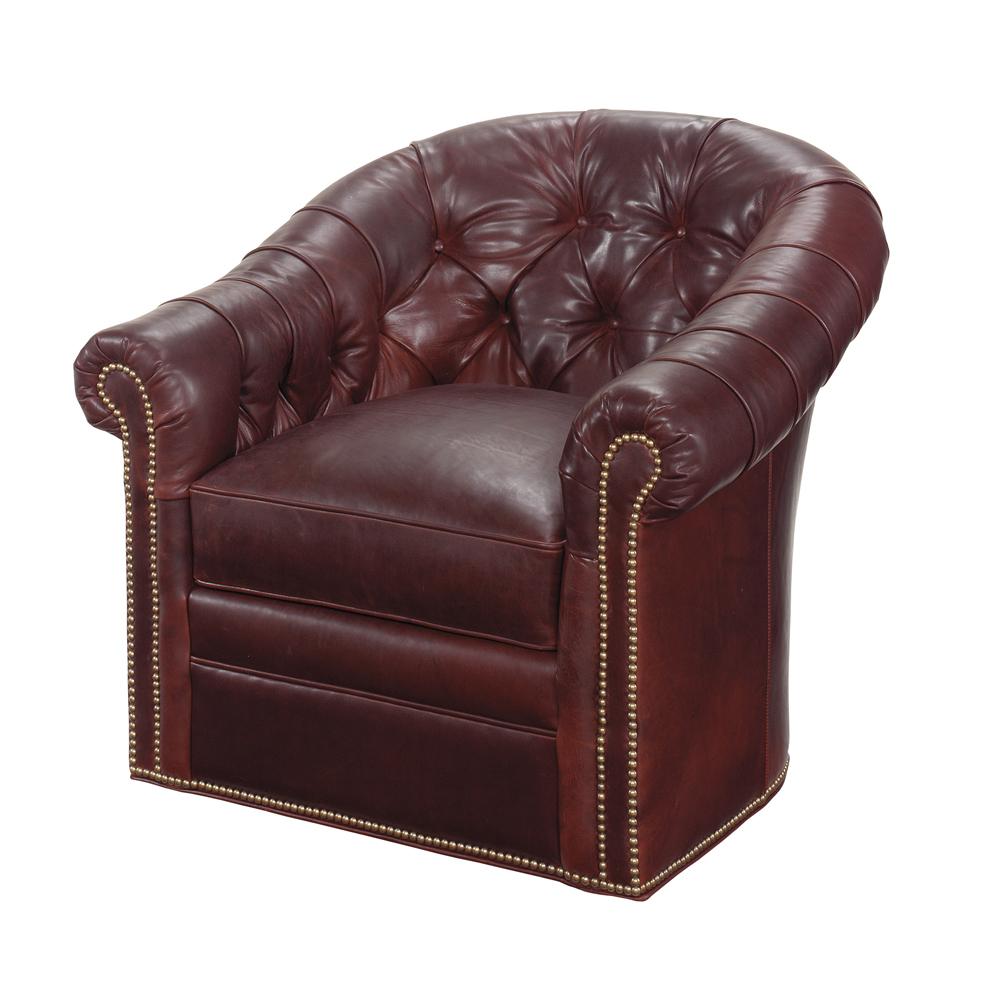 Lexington - Robinson Leather Swivel Chair