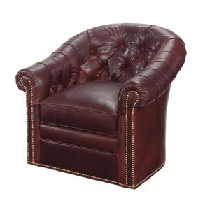 Thumbnail of Lexington - Robinson Leather Swivel Chair