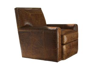 Thumbnail of Lexington - Stirling Park Leather Swivel Chair