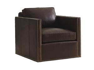 Thumbnail of Lexington - Hinsdale Leather Swivel Chair