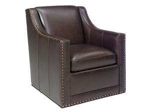 Thumbnail of Lexington - Barrier Leather Swivel Chair