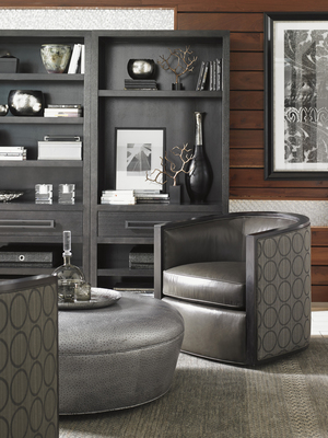 Thumbnail of Lexington - Palermo Leather Swivel Chair
