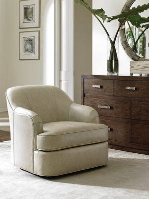Thumbnail of Lexington - Alta Vista Leather Swivel Chair
