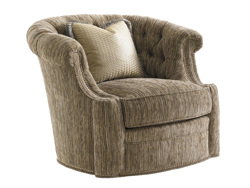 Lexington - Feroni Leather Swivel Chair