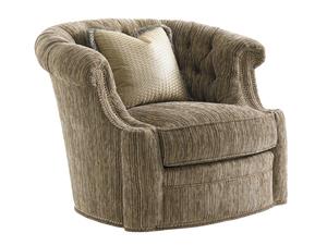 Thumbnail of Lexington - Feroni Leather Swivel Chair