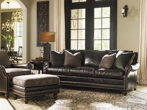 Thumbnail of Lexington - Shoal Creek Leather Sofa