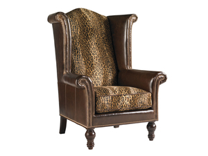 Thumbnail of Lexington - Kings Row Leather Wing Chair