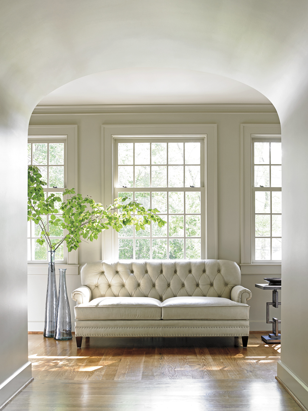 Lexington - Hillstead Leather Settee