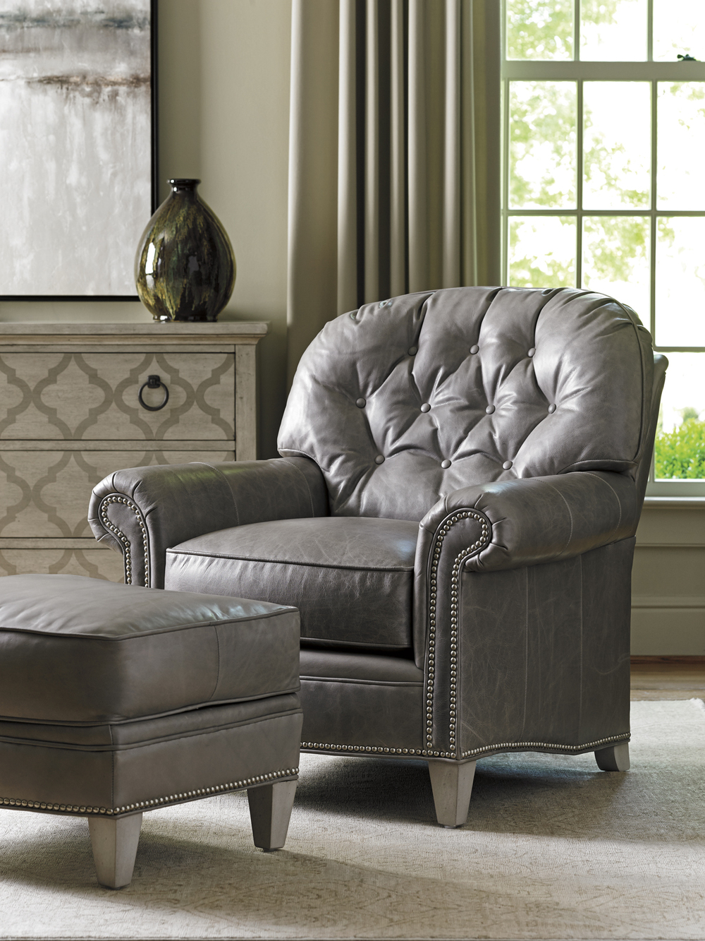 Lexington - Bayville Leather Chair
