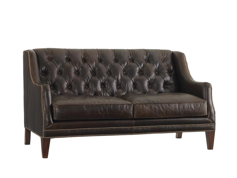 Lexington - Sloane Leather Settee