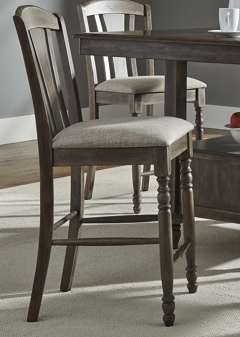 Liberty Furniture - Slat-Back Barstool
