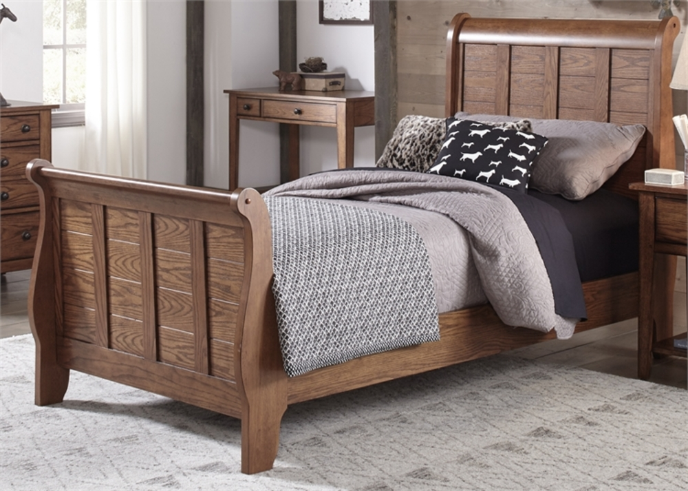 Liberty Furniture - Full Sleigh Headboard & Footboard