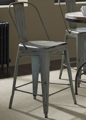 Thumbnail of Liberty Furniture - Bow Back Counter Chair - Green