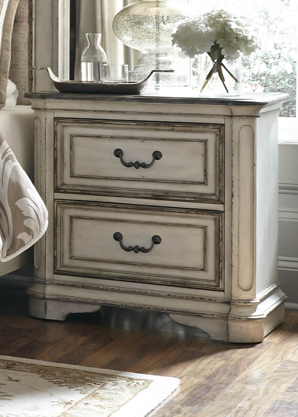 Liberty Furniture - Two Drawer Night Stand