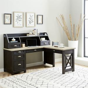 Thumbnail of Liberty Furniture - L Shaped Desk Set