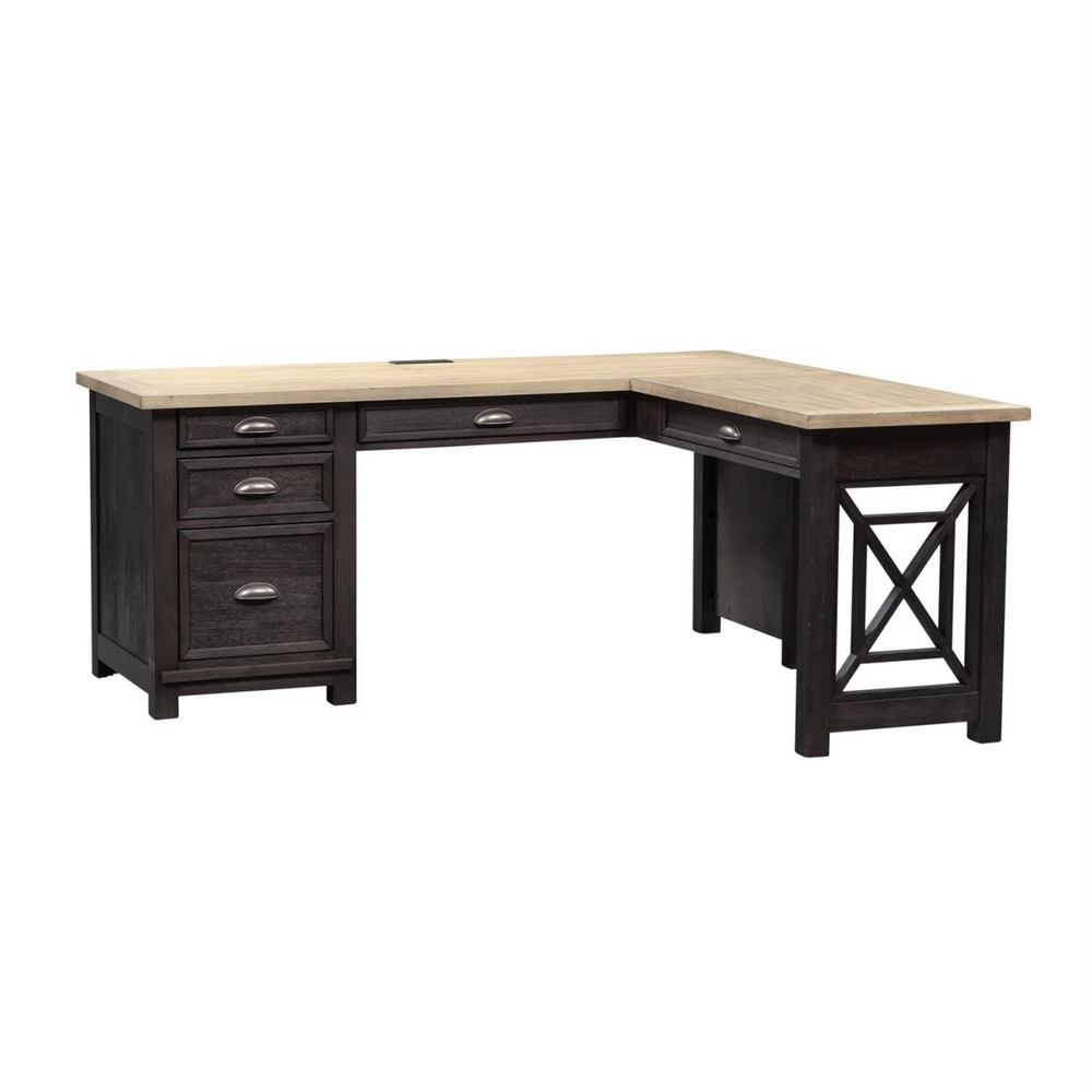 Liberty Furniture - L Shaped Desk Set