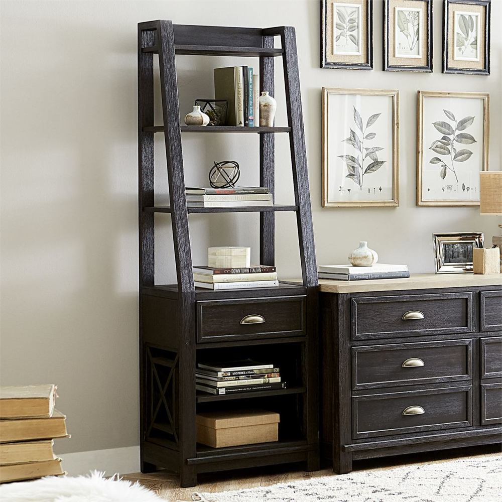 Liberty Furniture - Leaning Bookcase Pier