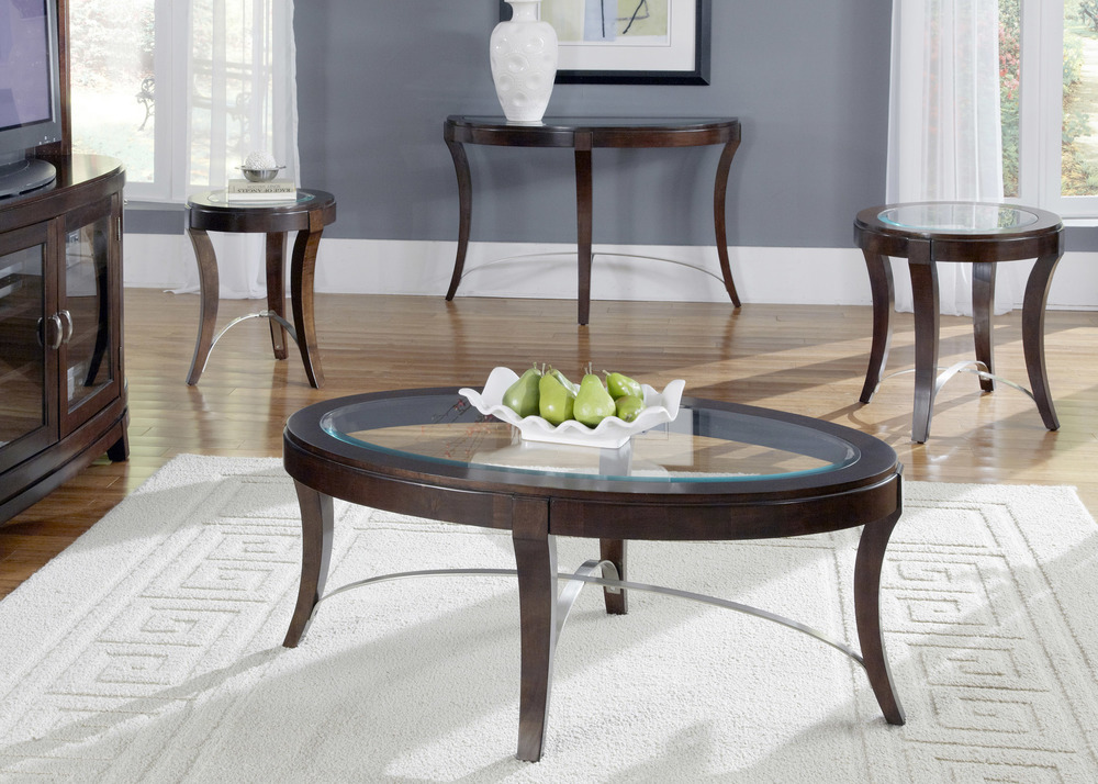 Liberty Furniture - Oval Cocktail Table