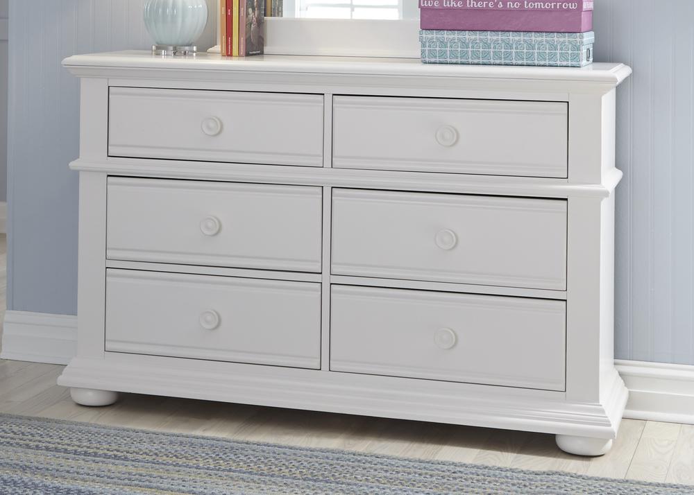 Liberty Furniture - Six Drawer Dresser