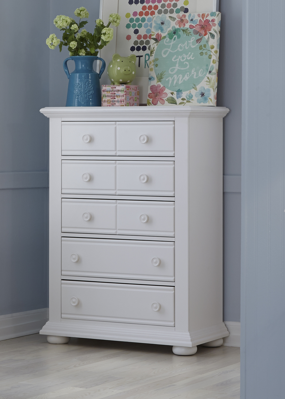 Liberty Furniture - Five Drawer Chest