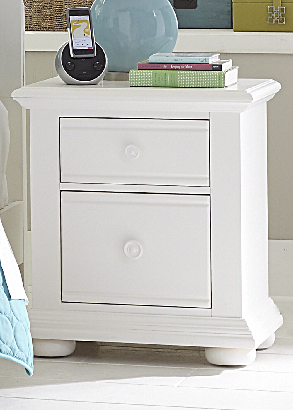Liberty Furniture - Two Drawer Night Stand