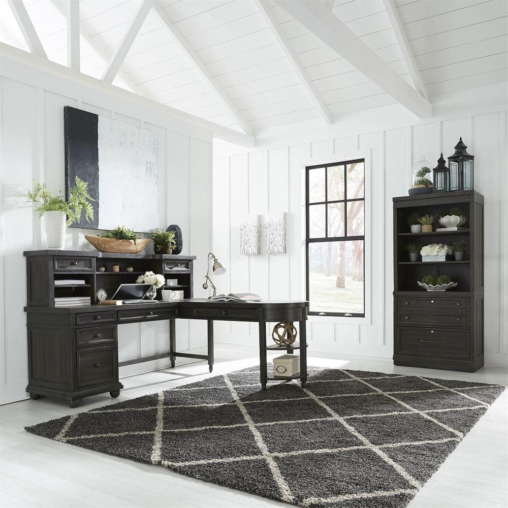 Liberty Furniture - L Shaped Desk Set