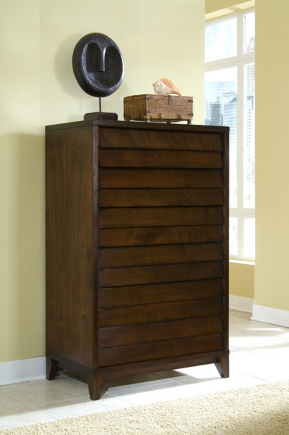 Ligna Furniture - Six Drawer High Chest