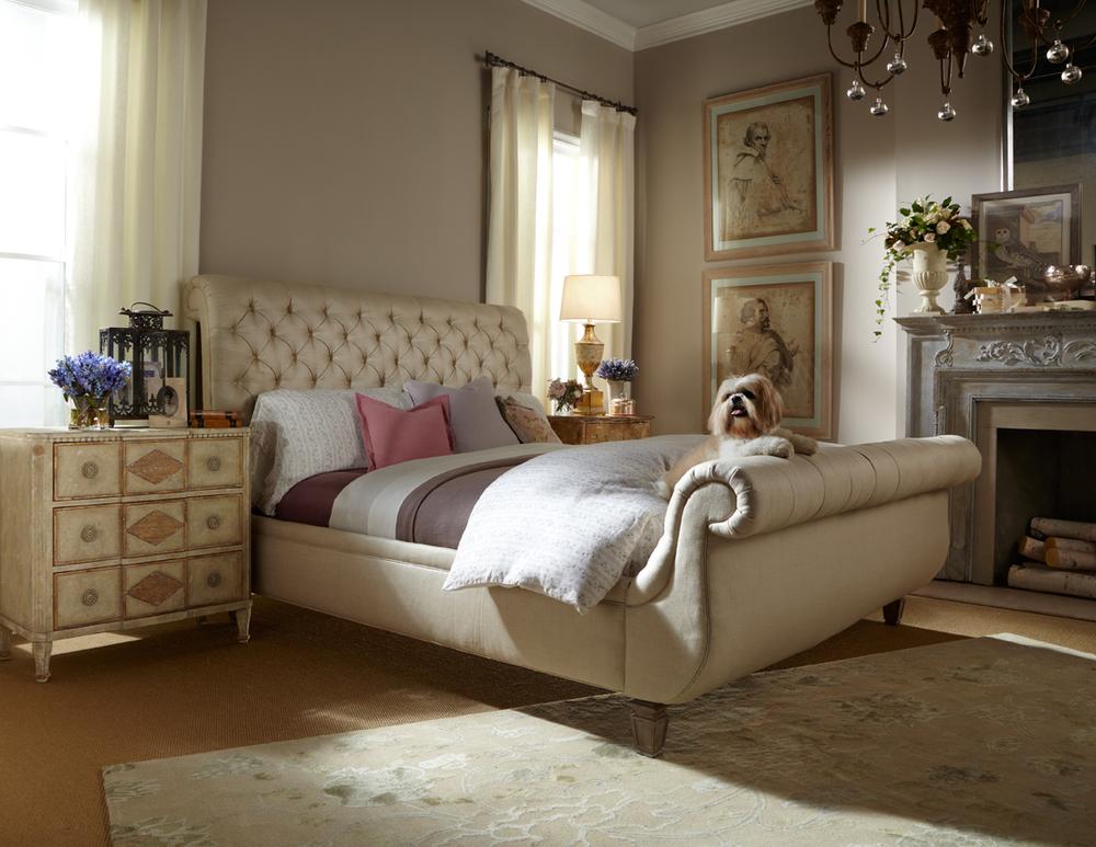 Lillian August Fine Furniture - Devonshire King Bed