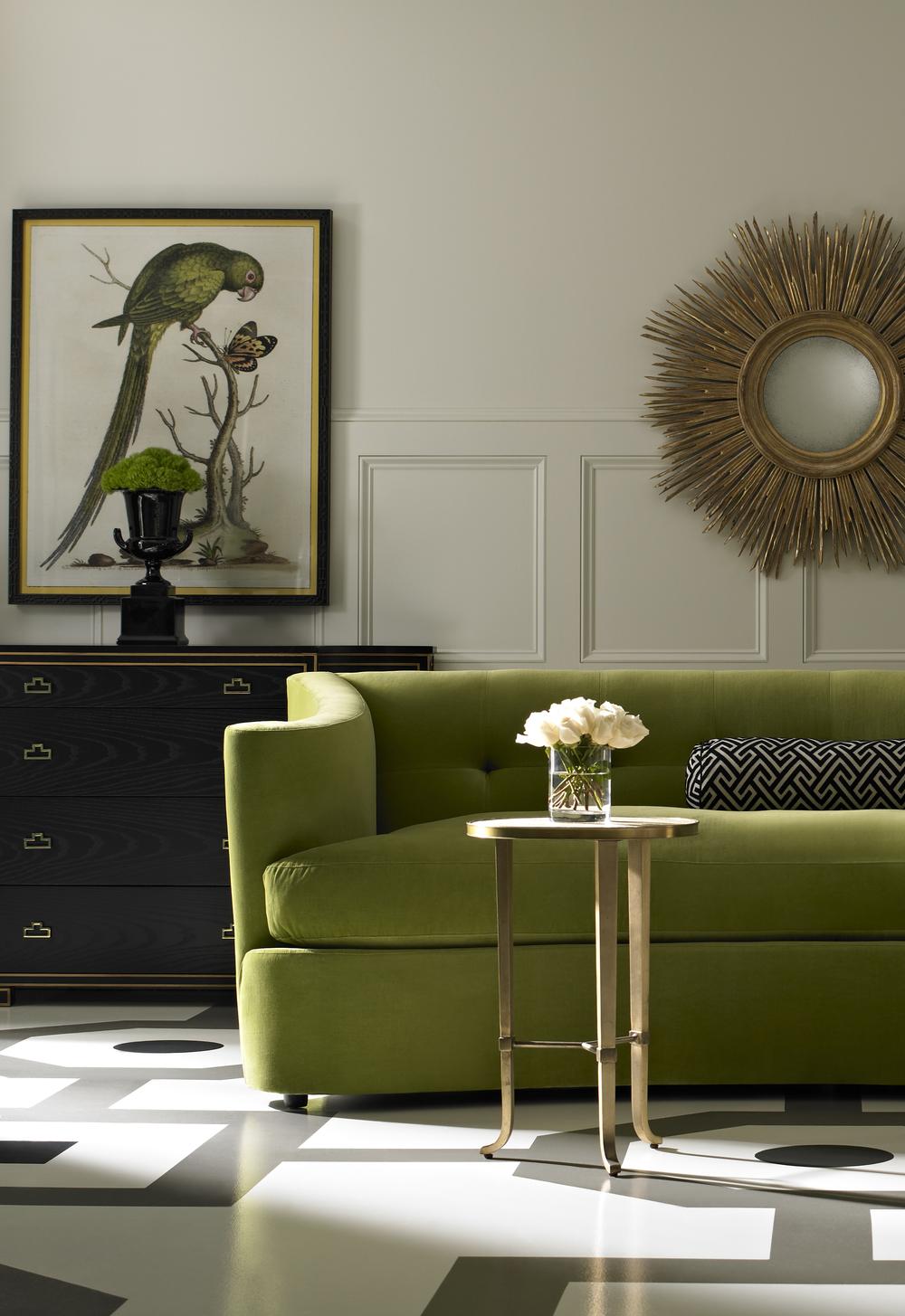 Lillian August Fine Furniture - Maison Sofa