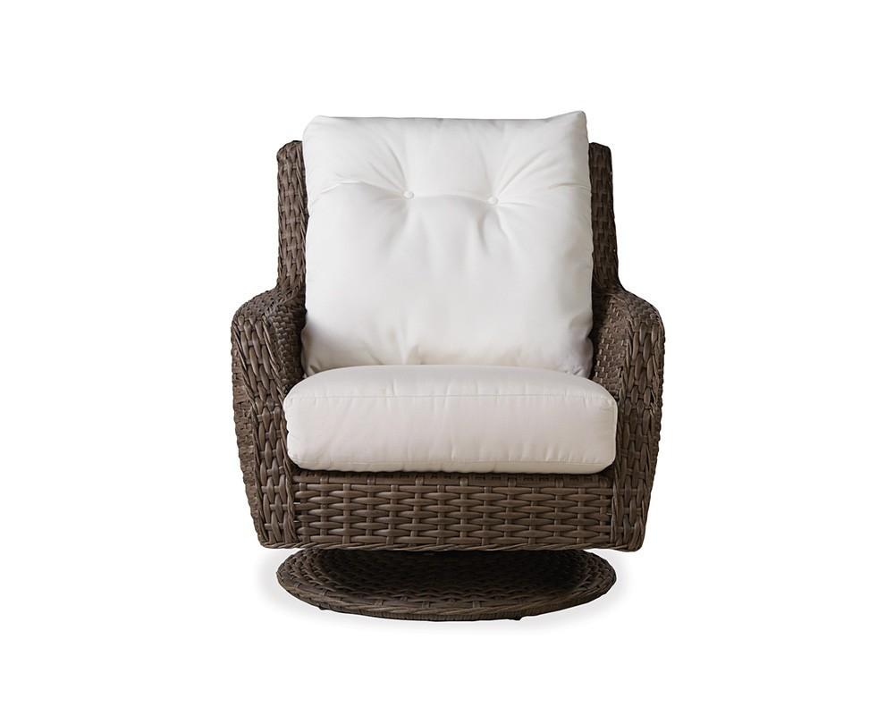 Lloyd Flanders - High Back Swivel Rocker Lounge Chair