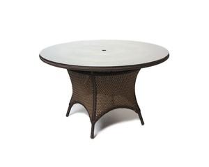 Thumbnail of Lloyd Flanders - Round Umbrella Dining Table