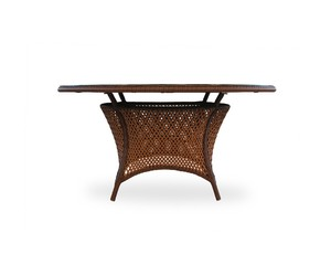 Thumbnail of Lloyd Flanders - Round Umbrella Dining Table