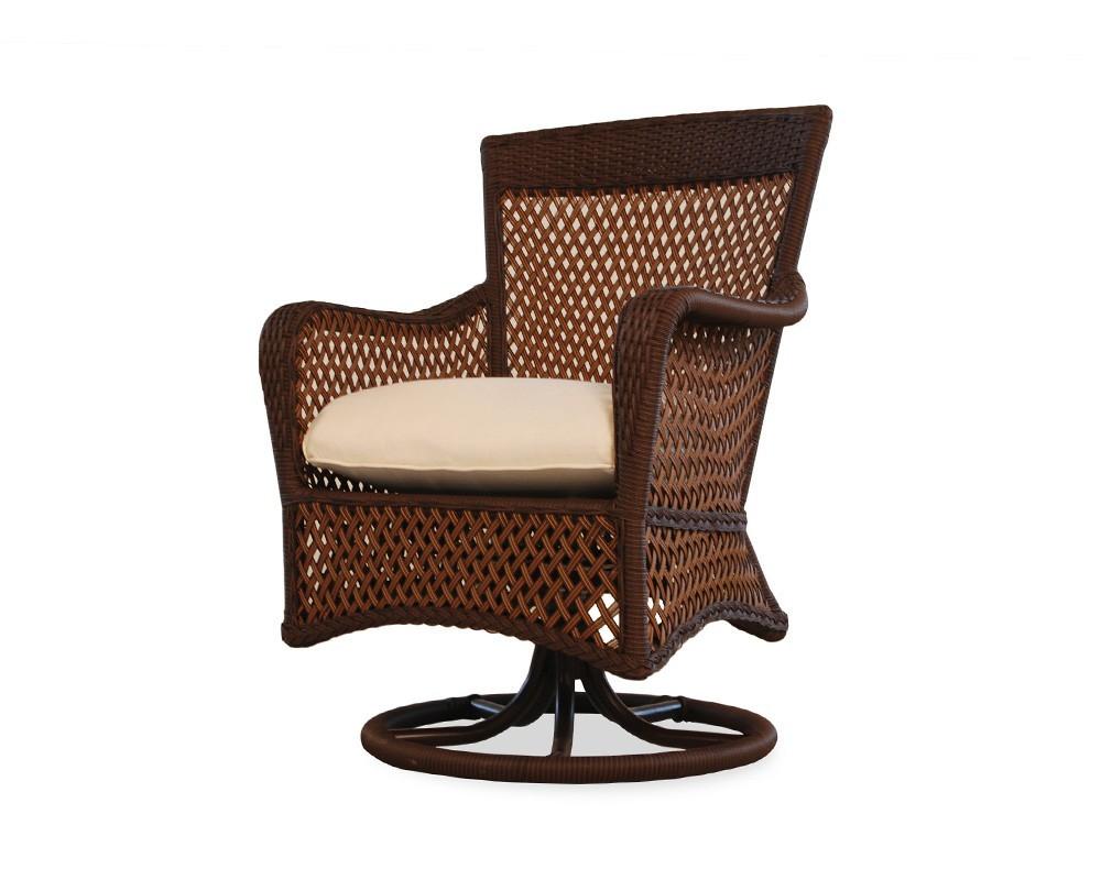 Lloyd Flanders - Swivel Dining Arm Chair