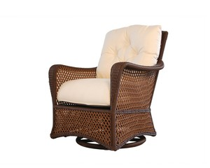 Thumbnail of Lloyd Flanders - Swivel Glider Lounge Chair