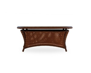 Thumbnail of Lloyd Flanders - Oval Cocktail Table