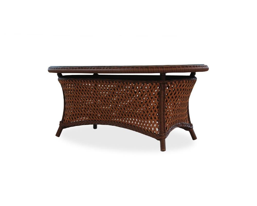 Lloyd Flanders - Oval Cocktail Table