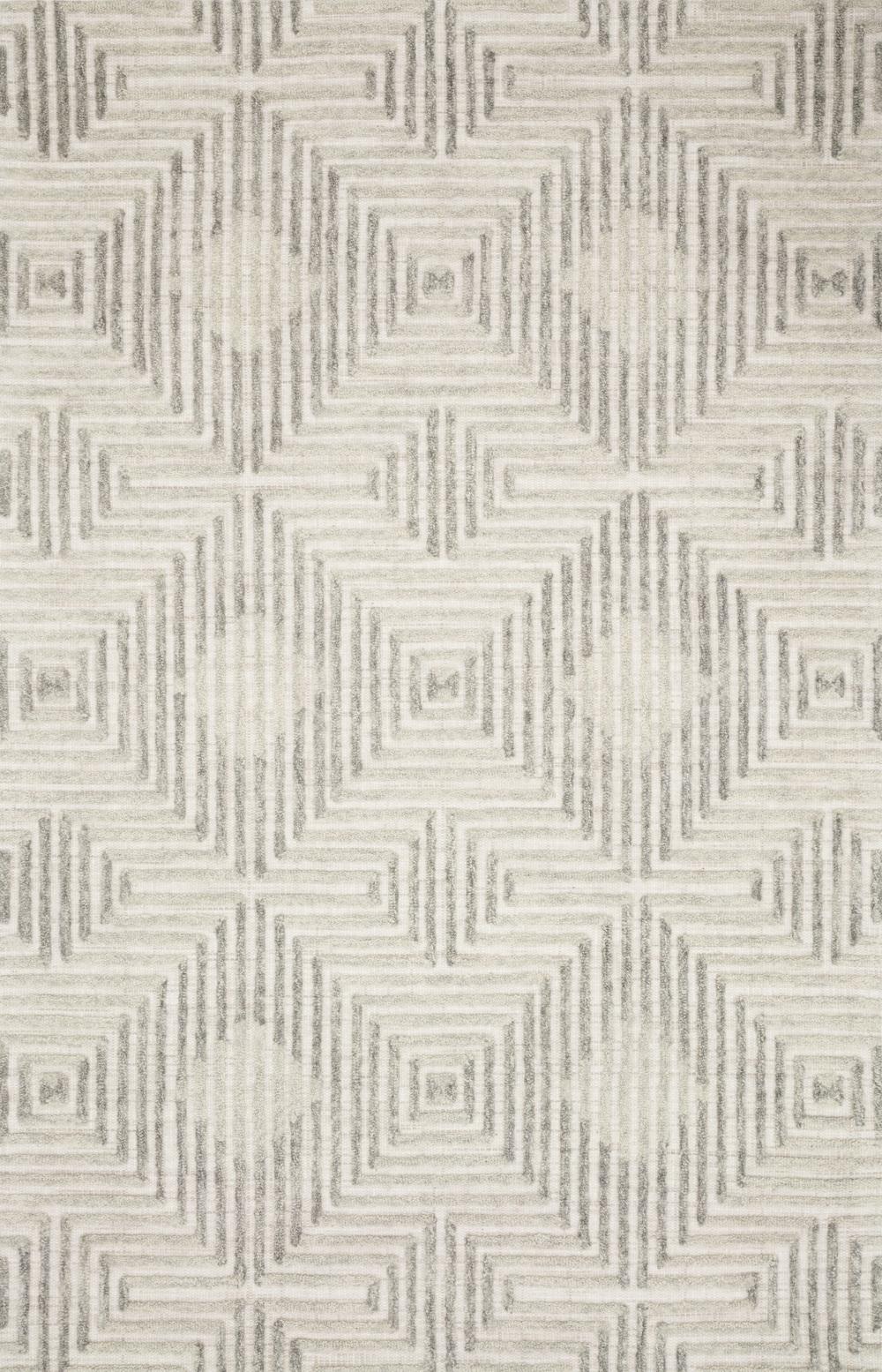 Loloi Rugs - Ehren Rug (Grey/Silver)