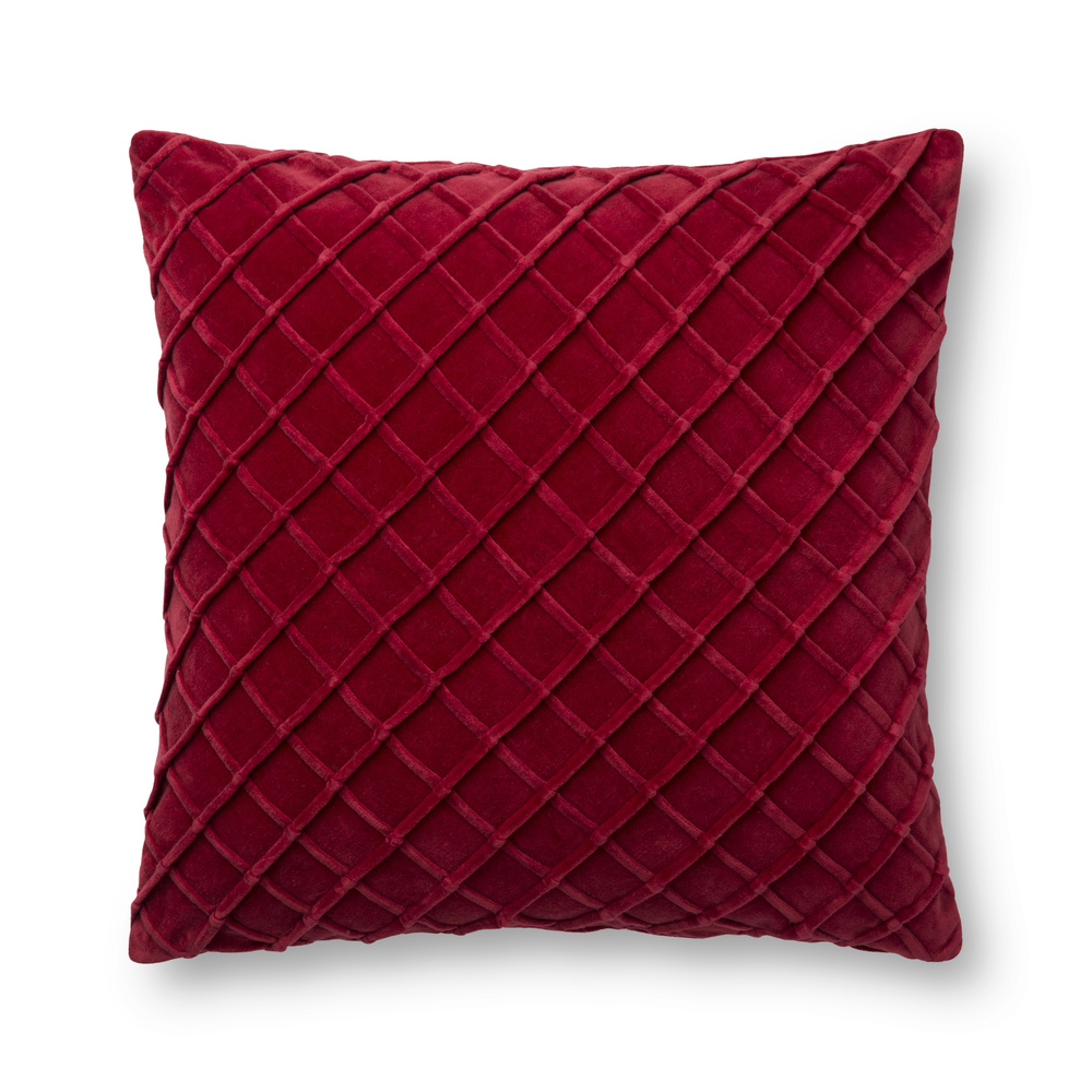 Loloi Rugs - Red Pillow