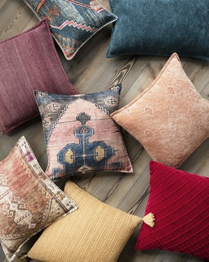 Thumbnail of Loloi Rugs - Red Pillow