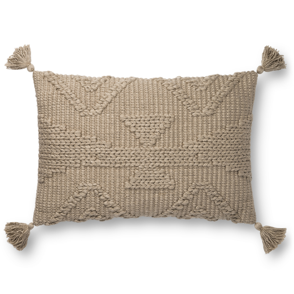 Loloi Rugs - Taupe Pillow