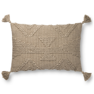 Thumbnail of Loloi Rugs - Taupe Pillow