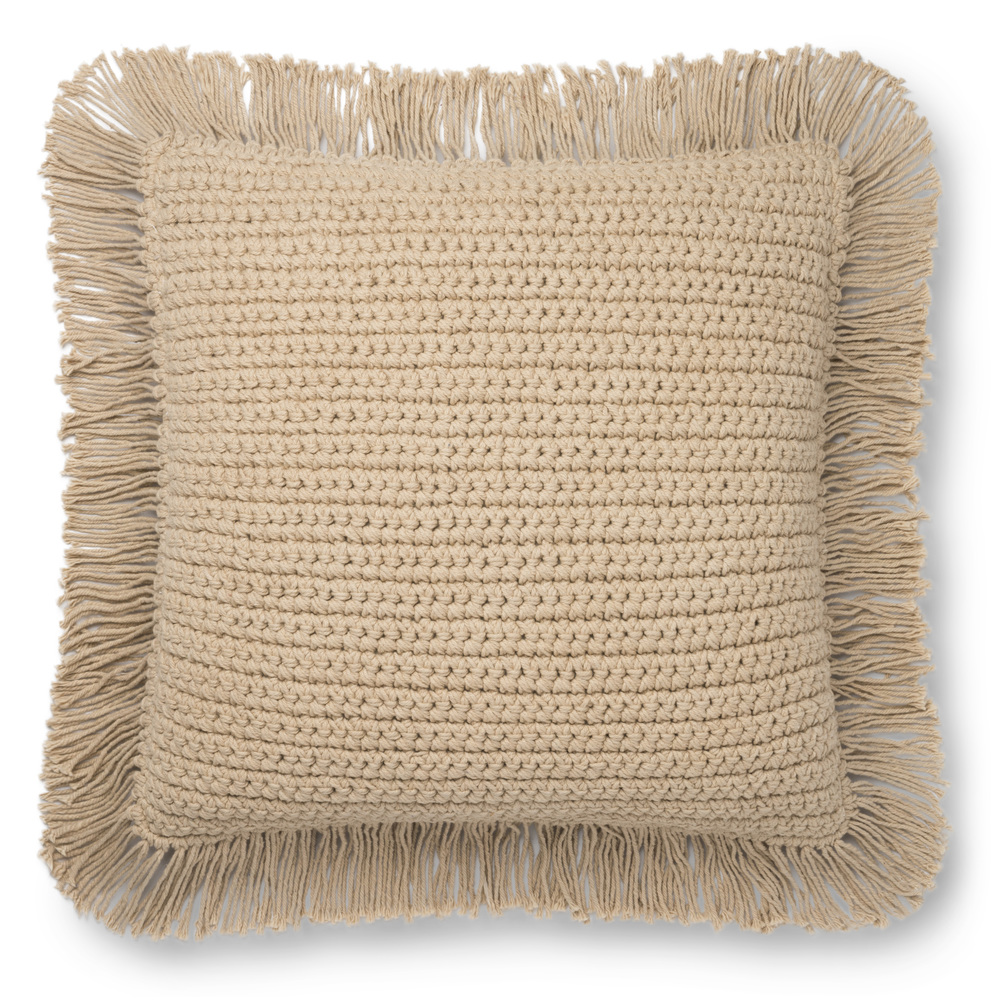 Loloi Rugs - Beige Pillow