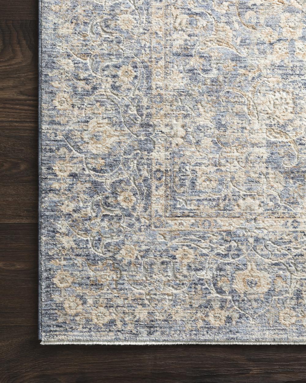 Loloi Rugs - Pandora Rug (Blue/Gold)