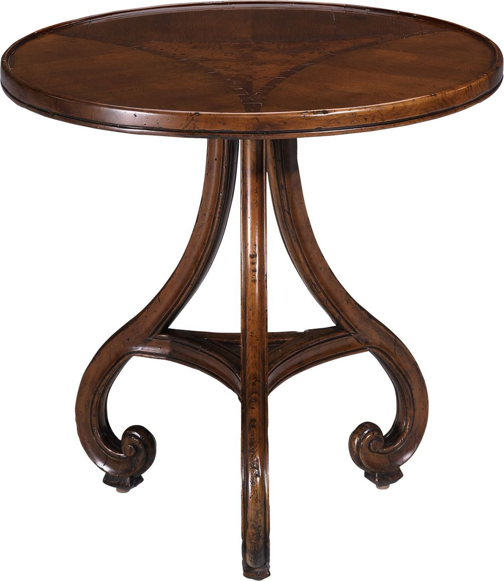 Lorts - Round Lamp Table