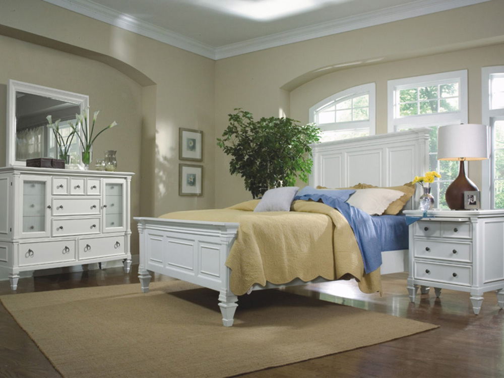 Magnussen Home - Ashby Patina White Bedroom Chest