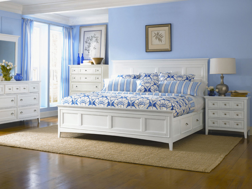 Magnussen Home - Kentwood White Five Drawer Chest